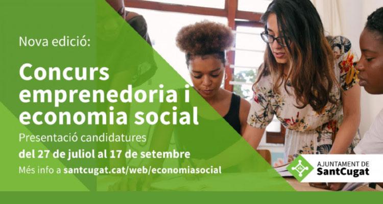 Concurs d'Emprenedoria i Economia Social Ajuntament de Sant Cugat