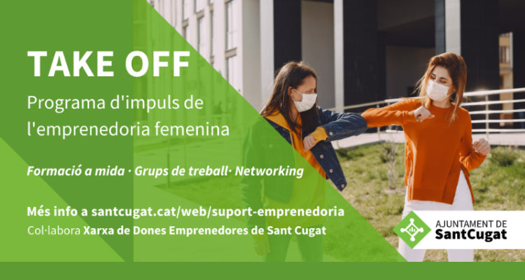 Take Off. Programa d'impuls a l'empreneduria