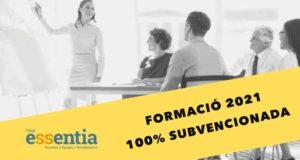 Cursos Essentia 100% subvencionats