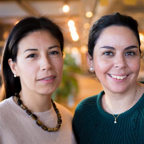 Verónica Saavedra i María Teresa Torres. Dones en creixement
