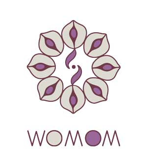 Logo. Womom. Terapeuta per a futures mares